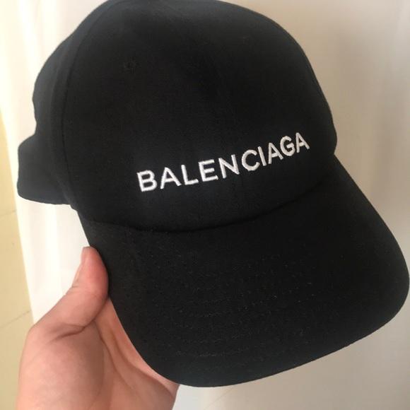 Balenciaga Black Hat | Poshmark